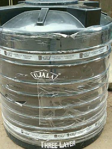 Black Ujala Three Layer Water Tank Storage Capacity 1000l Size 1000 Ltr Rs 4900 Piece Id 21350215388