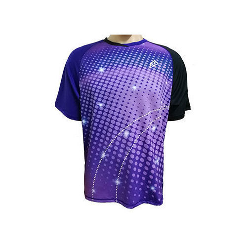 f4cb128aac5 Mens Sublimation Polyester Round Printed T Shirts
