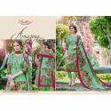 Green Pakistani Designer Suit