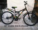26* Double Disk & Shocker Bicycles
