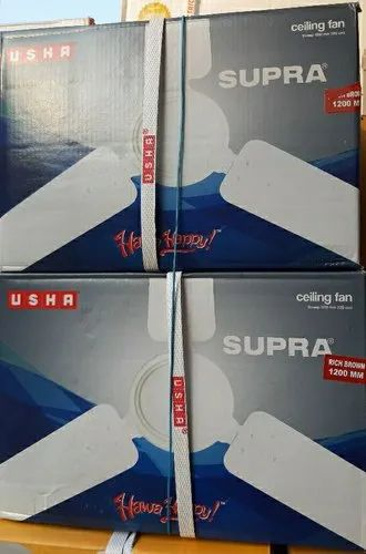 Usha Supra Ceiling Fan, Fan Speed: 360 Rpm, Power: 72 Watt