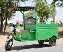 Godawari Battery Operated G-One LDR Loading Electric Rickshaw, Seating Capacity: 1, For Loader