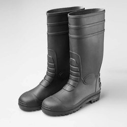 PVC Construction Safety Gumboot