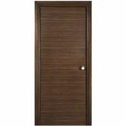 Laminated Hinged Wooden Veneer Door For Home
