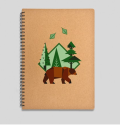 Brown Bear Notebook