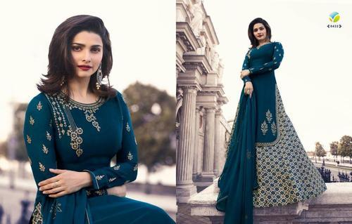 18222e4380 Georgette Embroidered Vinay Fashion Party Wear Suits, Rs 1377 /piece ...