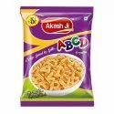 Akash Ji Alphabet Fried Fryums, Packaging Size: 25 Gm