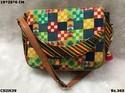 Multicolour Ikat Sling Bag