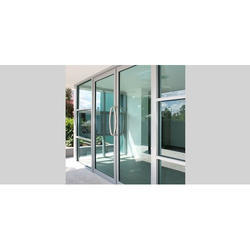 Aluminium Glass Casement Door