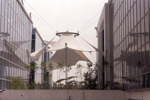 Pagoda Tent Manufacturer India Cable Suspended Tensile