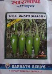 Sarnath Bullet Chilli Seeds, Pack Size: 10gm