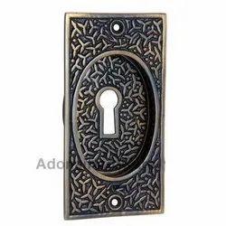 Decorative Brass Flush Pull