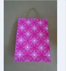 Flog print handmade paper bag