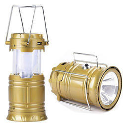 T-5800 Solar Lamp With Penal Torch Mobile charger