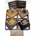 Gents Wallet Key Ring Reversible Leatherette Belt