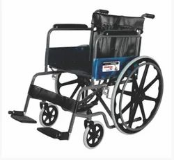 Folding Wheelchair With Mag Wheel