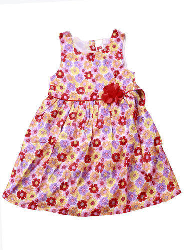 a9ccaa41164c Kids Frock - Kids Floral Printed Frock Wholesaler from New Delhi