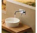 Stainless Steel Silver Bathroom Faucets, For Kitchen