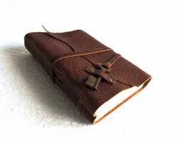 Vintage Leather Key Journal