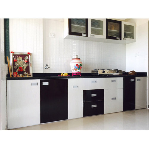 Pvc Modular Kitchen Manufacturer From: Modern PVC Modular Kitchen, Rs 1800 /square Feet, Style My