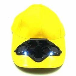 Yellow Solar Fan Hat, For Promotional