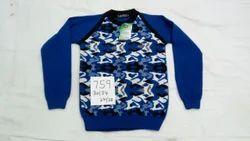 Round Neck Kids Sweater
