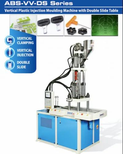 Automatic Two Station Vertical Injection Moulding Machine