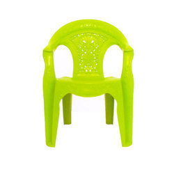 Poly Tuff Green Plastic Baby Chair for Home