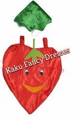 Kids Smiley Strawberry Cutout Costume