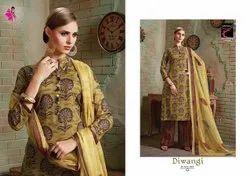 Khushika Ladies Printed Suit