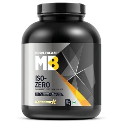 MB Iso-Zero Vanilla Whey Protein Isolate, Packaging Size: 2 kg