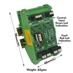 2 AMP SHORT CIRCUIT PROTECTED DC TO DC SSR 4CH CARD