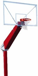 Basket Ball Pole Fix In Ground Height Adjustable