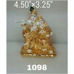 1098 Radha Krishna Statue