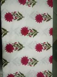 Cotton Mughal Buta Printed Fabric