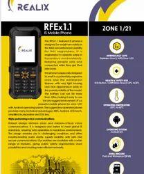 Intrinsically Safe Explosion Proof Mobile Phones, Model Name/Number: Realix,Safe Talk