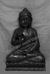 Black Marble Buddha