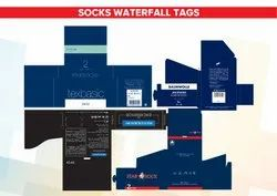 Socks Waterfall Tag