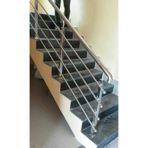 Deck Galvanized SS Steel Step Railings, for Office