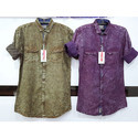 Slim Fit Casual  indico Shirts