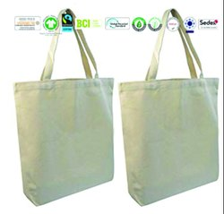 Fair Trade Organic Cotton Muslin Bag