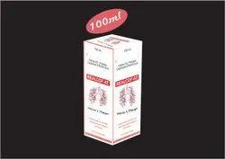 Ambroxol 15mg, Terbutaline 1.25mg, Guaiphenesin 50mg, Menthol 1mg