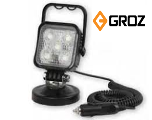 Groz Aluminium Die Cast Housing Led 630 15w Portable Lamp With Magnetic Base Id 18903508733