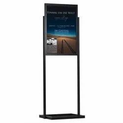 Poster Stand Side Pillars