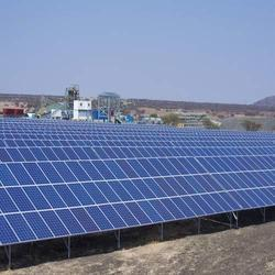 MW Scale Solar Power Plant