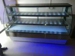 Metal Sweet Display Counter, For Hotel
