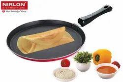 Nirlon Nonstick Dosa Tawa/Griddle, Roti-Chapati Tawa Pan Perfect for Pizza, 5mm Nonstick Cookware