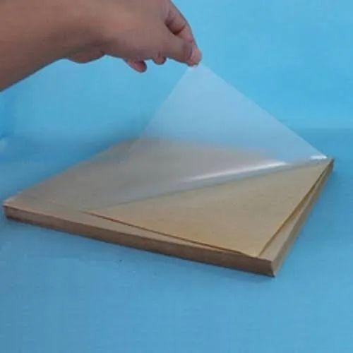 Transparent PVC Gumming Sheet