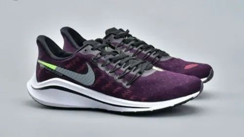 Purple Men Nike Zoom Vomero 14 Sports Shoe  9886256a4