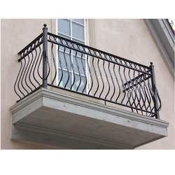 Iron Balcony Railing, for Home, Hotel